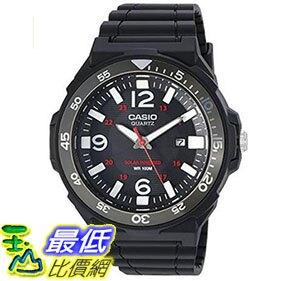 [美國直購] 手錶 Casio Men's Solar Powered Quartz Resin Automatic Watch Black MRWS310H-1BV