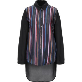 《期間限定セール開催中!》PIANURASTUDIO レディース シャツ ブラック 40 シルク 100%