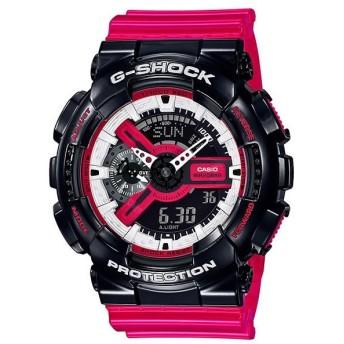 【並行輸入品】海外CASIO 海外カシオ 腕時計 GA-110RB-1A メンズ G-SHOCK Gショック(国内品番はGA-110RB-1AJF)