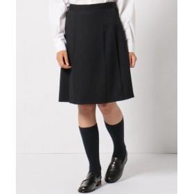 組曲キッズ フレアーギャバ スカート レディース ネイビー系 160 【KUMIKYOKU KIDS】