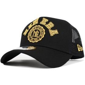 NEW ERA(ニューエラ) メッシュキャップ カレッジ ブラック/イエロー NEWERA COLLEGE TRUCKER MESH CAP 11557393