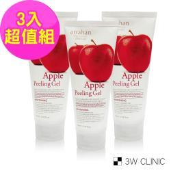 韓國 ARRAHAN 蘋果溫和潔淨角質凝膠180mlX3入超值組