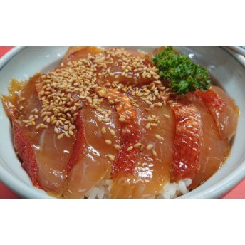 金目鯛のヅケ丼