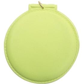 sslink バッグチャーム 丸ミラー (グリーン) キーホルダー 折りたたみミラー コンパクト 手鏡 ミニ鏡 ミラー 鏡 ゴールド チェーン キーリング キーチャーム バック