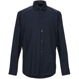 《セール開催中》SELECTED HOMME メンズ シャツ ダークブルー 38 コットン 97% / ポリウレタン 3%