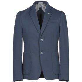 《期間限定セール開催中!》HAVANA & CO. メンズ テーラードジャケット ブルー 44 ポリエステル 95% / ポリウレタン 5%