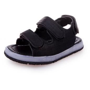 (キュミオ) QeMIO 子供 キッズ サンダル LED光る靴 LEDシューズ 発光靴 光るサンダル ビーチサンダル ピカピカ発光靴 ライトシューズ -06E02