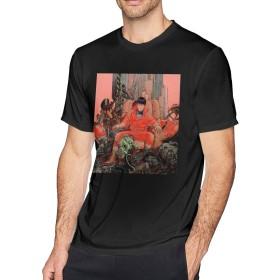 メンズ OネックAkira (2)アウトドアスポーツTシャツS半袖シャツ