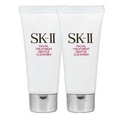 SK-Ⅱ 全效活膚潔面乳(20g)*2