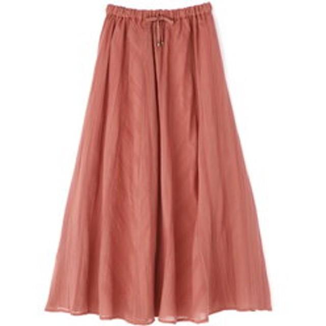 【HUMAN WOMAN:スカート】楊柳スカート