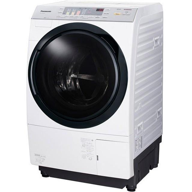 パナソニック ドラム式洗濯機 NA-VX3700L-W  乾燥 左開き 10.0kg