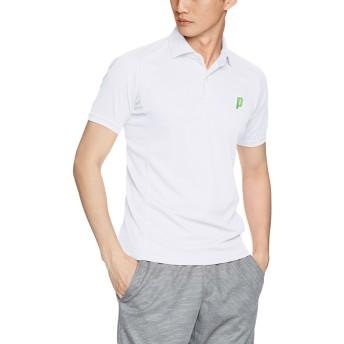 (プリンス)prince テニスウェア ゲームシャツ WU8104 [ユニセックス] WU8104 146 ホワイト (146) L