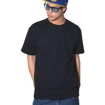 [UnitedAthle(ユナイテッドアスレ)] 無地 Tシャツ メンズ 半袖 7.1オンス スーパーヘビーウェイト 黒 ブラック L 4252-01