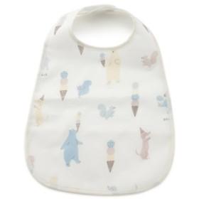 (gelato pique/ジェラートピケ)【BABY】アイスクリームアニマル baby お食事スタイ/レディース OWHT