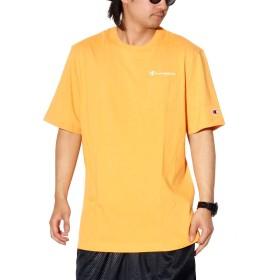 [チャンピオン] ポケットTシャツ メンズ Champion 大きいサイズ スクリプトロゴ イエロー T5075 XXL [並行輸入品]