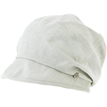 クイーンヘッド UVカット 帽子 ドビーダウンSSハット レディース ハット 大きいサイズ 小顔効果 日よけ UV 紫外線カット 【フリー56-58.5cm-グレー】