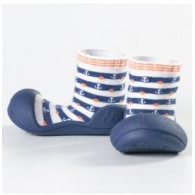 (FOOT PLACE(Kids)/フットプレイス(キッズ))ベビー 靴下 シューズ Attipas アティパス AP-2500/レディース ネイビー