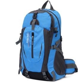 [クルーズライン] 男女兼用 大容量 リュック 35L 登山 旅行 アウトドア レジャー バックパック ザック バッグ B40 (ブルー)