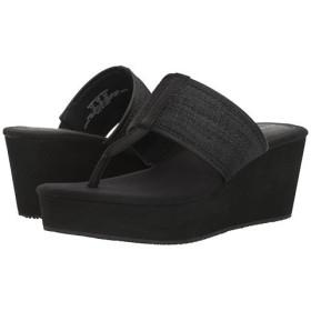 (トミーバハマ)Tommy Bahama レディースファッションサンダル・靴 Sandrinn Black 6.5 23.5cm B - Medium [並行輸入品]