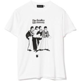 """[レイビームス] Tシャツ GOOD SPEED/Beatles """"Yellow Submarine"""" Tシャツ レディース ホワイト M"""
