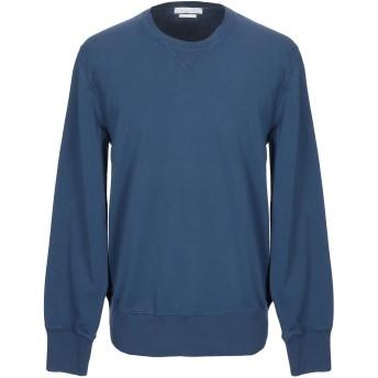 《期間限定セール開催中!》DANIELE FIESOLI メンズ スウェットシャツ ダークブルー S コットン 95% / ポリウレタン 5%