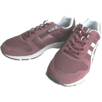 [アシックス] TDW414-2596 GEL-FUNWALKER414(W) バーガンディ×ライトグレー(2596) ゲルファンウォーカー レディース フィットネス ウォーキング スニーカー 軽量 お買い物靴 お散歩靴 ショッピング 普段履き (24.5cm)