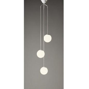 オーデリック 照明器具 吹き抜け用LEDシャンデリア 電球色 白熱灯50W×3灯相当 OC257107LD