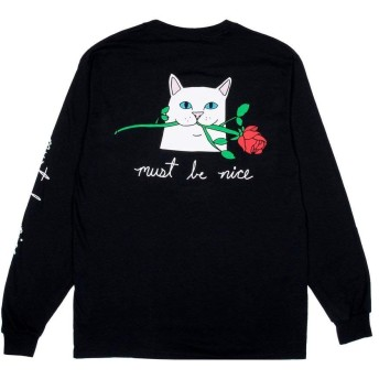 RIPNDIP ROMANTIC NERM LONG SLEEVE TEE ロンT (RND2244) (MENS(S)) [並行輸入品]