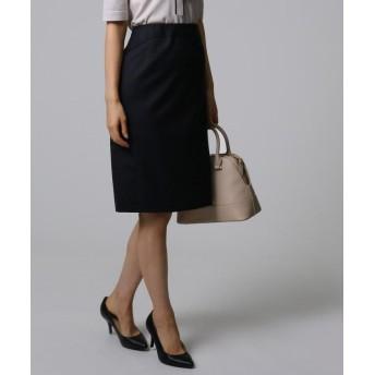アンタイトル [L]ティエラウールステッチタイトスカート レディース ブラック(019) 50(7L) 【UNTITLED】