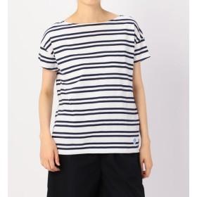 【ビショップ/Bshop】 【ORCIVAL】ルーズボートネックTシャツ(2STRIPE) WOMEN