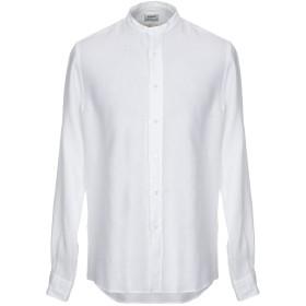 《セール開催中》ASPESI メンズ シャツ ホワイト 40 麻 100%