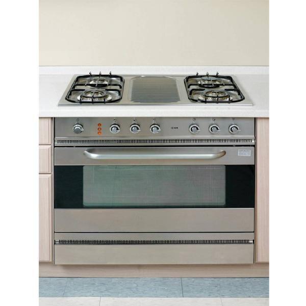 義大利ILVE I6840CCGGV/I原裝進口嵌入式四口安全瓦斯爐連烤箱