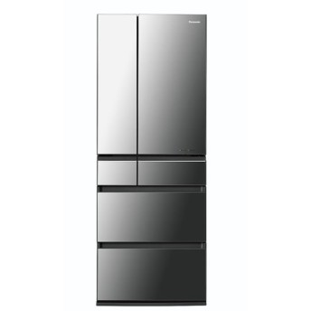 パナソニック 6ドア冷蔵庫 550L NR-F553HPX-X オニキスミラー