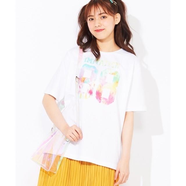 [マルイ]【セール】タイダイナンバリングTシャツ/ウィゴー(メンズ)(WEGO)