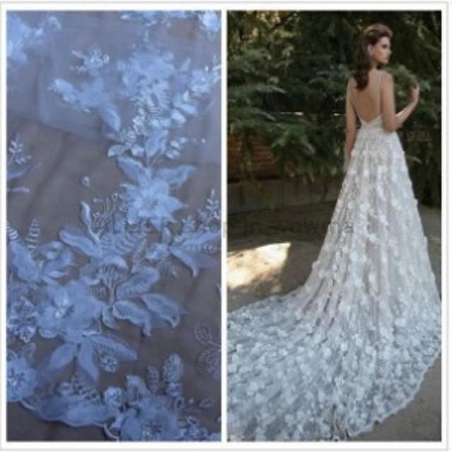 ウェディングドレス 白い黒の花ブライダルドレスウェディングドレスラインストラップアップリケカスタム4 6+