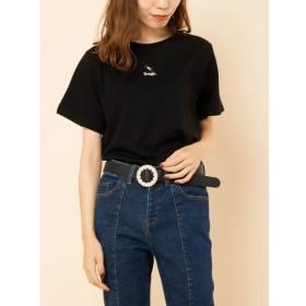 [マルイ]【セール】Rougeプチ刺繍Tシャツ/エージープラス(a.g.plus)
