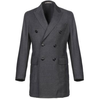 《期間限定セール開催中!》PAOLONI メンズ ライトコート 鉛色 48 バージンウール 100%