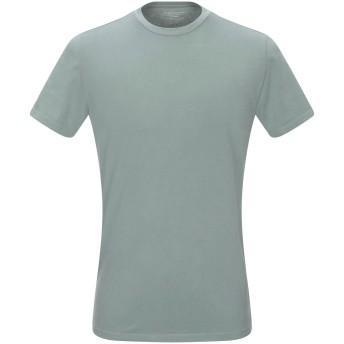 《9/20まで! 限定セール開催中》MAJESTIC FILATURES メンズ T シャツ ミリタリーグリーン M コットン 94% / ポリウレタン 6%