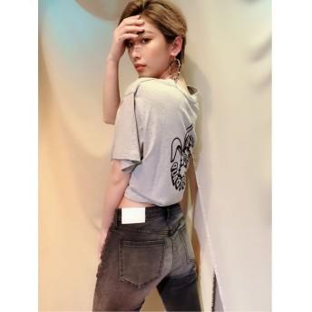 【20%OFF】 ジェイダ GYDIE'S BUNNY BIGTシャツ レディース グレー F 【GYDA】 【セール開催中】