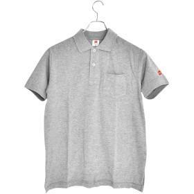 【即納!】へインズ Hanes ワンポイント Tシャツ H3-P301 半袖 メンズ【ヘザーグレー(060)Lサイズ】