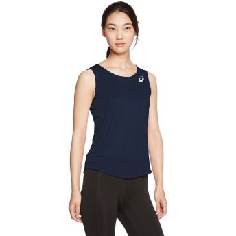 [アシックス] 陸上ウエア ランニングシャツ XT2034 [レディース] ネイビー 日本 140 (日本サイズ140 相当)