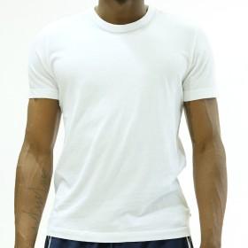 (ジェームスパース) James Perse メンズ クルーネック 半袖 Tシャツ MLJ3311 MHE3311 (White, サイズ【2】)