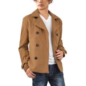 (ラグタイム セレクト) Ragtime Select Pコート メンズ ピーコート ウール メルトン コート ショート 秋 冬 きれいめ 冬アウター D300911-05 キャメル M