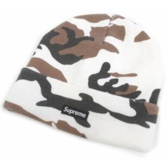 【中古】シュプリーム SUPREME Camo Beanie カモ ビーニー ニットキャップ 迷彩柄 帽子 メンズ