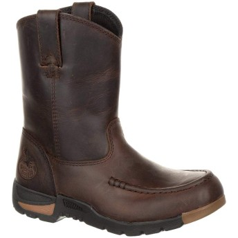 [Georgia] Boot Athens Little Kids' Pull-On Boot Brown