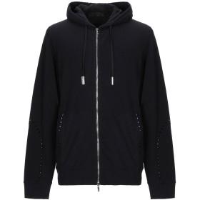 《期間限定セール開催中!》CESARE PACIOTTI 4US メンズ スウェットシャツ ブラック 50 コットン 95% / ポリウレタン 5%
