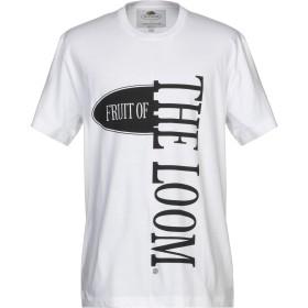 《期間限定 セール開催中》FRUIT OF THE LOOM x CEDRIC CHARLIER メンズ T シャツ ホワイト L コットン 100%