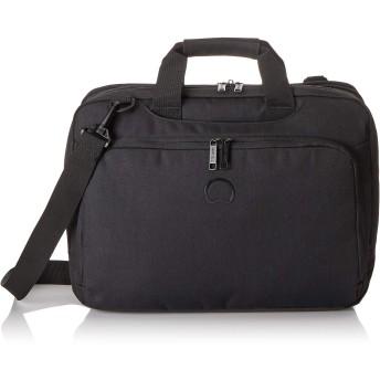 Delsey デルセー ESPLANADE ショルダバック ハンドバック ビジネスバッグ 2way 鞄 かばん デイバッグ キャリーオン機能 出張 通勤 15.6インチPC対応 21L 3年間保証 ブラック