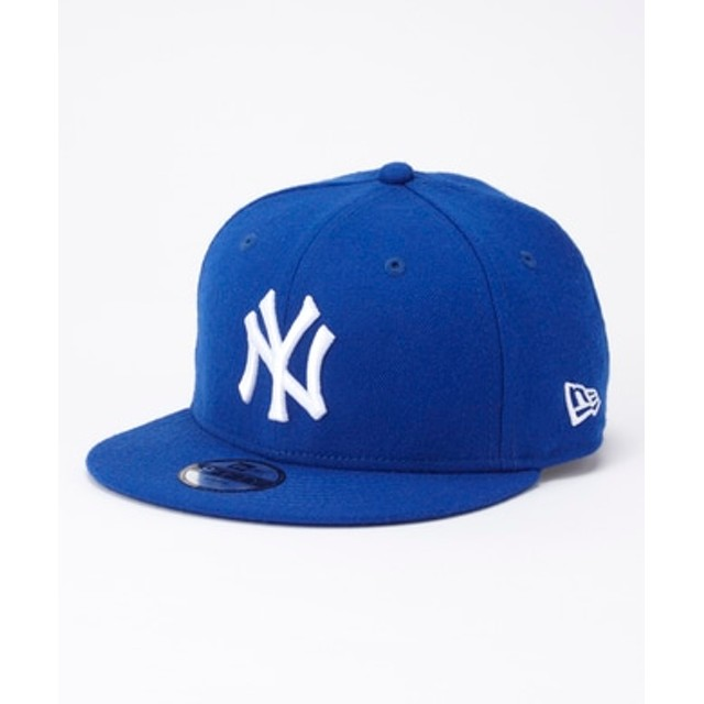 NEWERA 「9FIFTY」ニューヨーク・ヤンキースキャップ キッズ ブルー