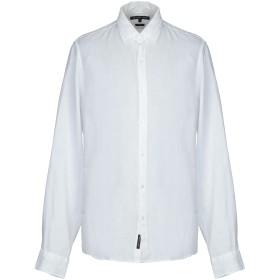 《期間限定セール開催中!》MICHAEL KORS MENS メンズ シャツ ホワイト XL 麻 100%